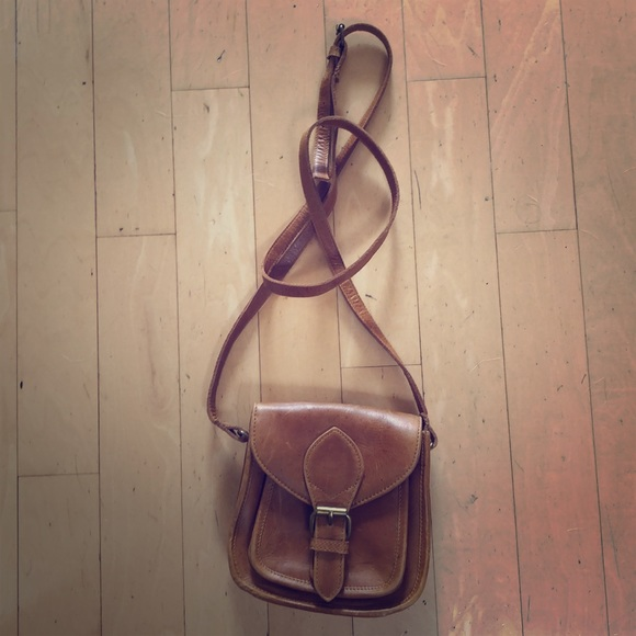 81cd44ef74 joyn Bags | Leather Crossbody Bag Camel | Poshmark
